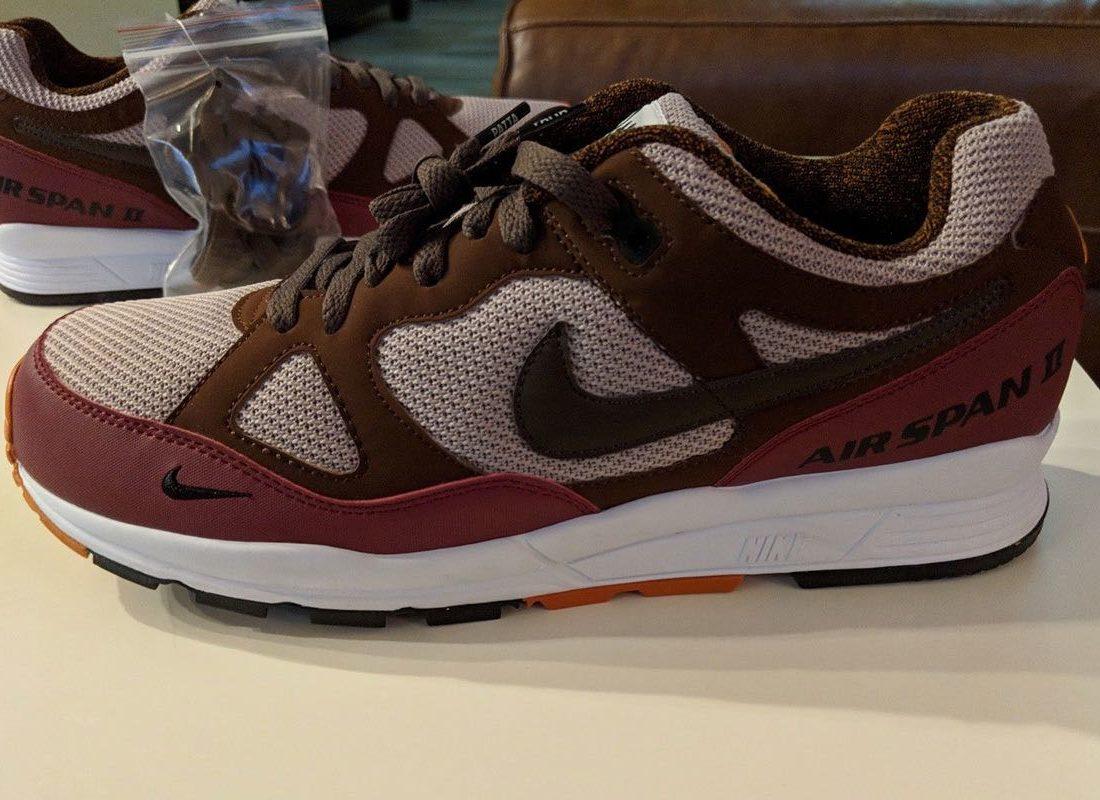 Pino Malentendido digestión  Preview: Patta x Nike Air Span II Brown - Le Site de la Sneaker