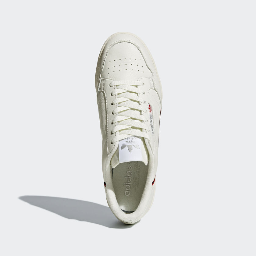 pretty cheap good texture buy online adidas Continental 80 Rascal Off-White