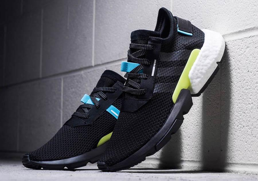 adidas POD S3.1 Black Volt Le Site de la Sneaker
