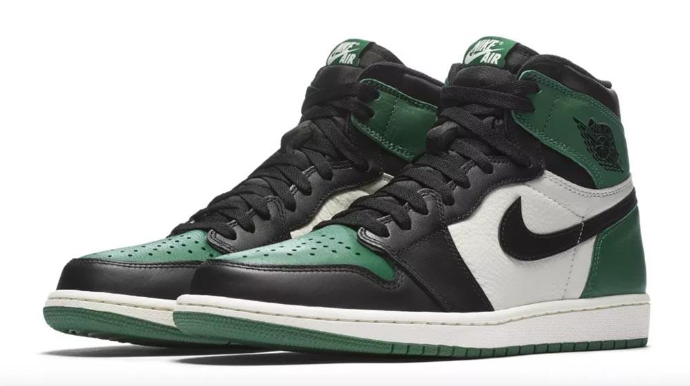 Air Jordan 1 Pine Green - Le Site de la Sneaker