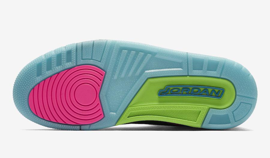 ad0af443347b Air Jordan 3 Quai 54 - Le Site de la Sneaker