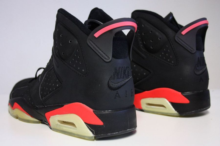 best sell professional sale details for Retour des Air Jordan 6 Black Infrared avec le Nike Air en ...