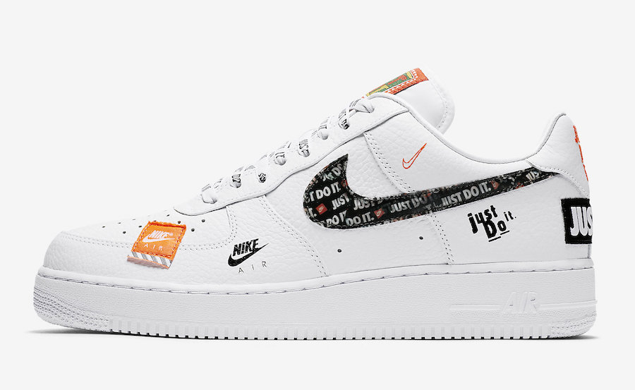 "Nike Air Force 1 '07 PRM ""Just Do It"" White Le Site de la"