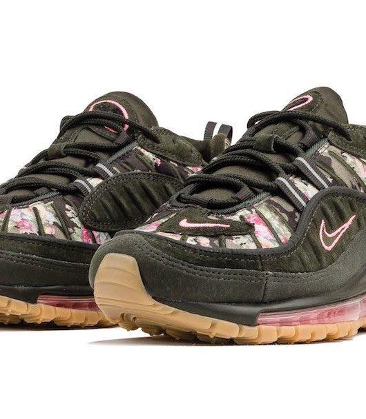 Preview  Nike Air Max 98 Floral Digi Camo. Le 20ème anniversaire de la ... 95db93575