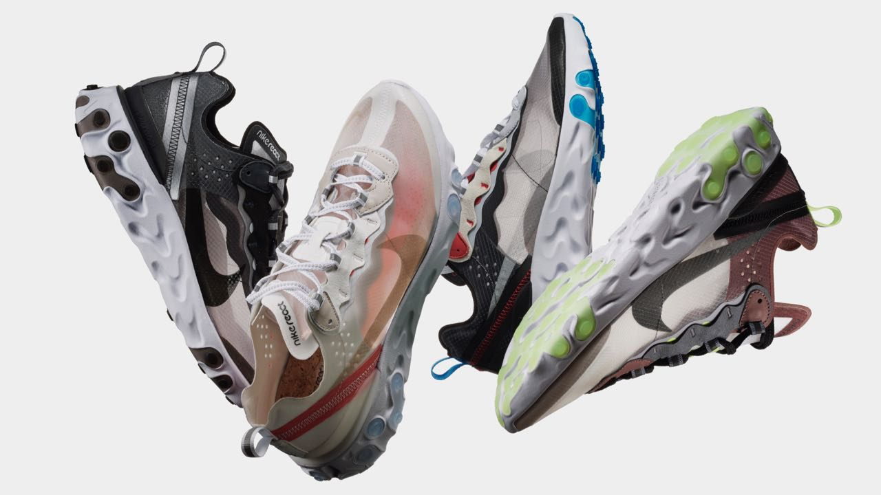 buy popular 3a282 aa331 Nike présente la React Element 87 - Le Site de la Sneaker