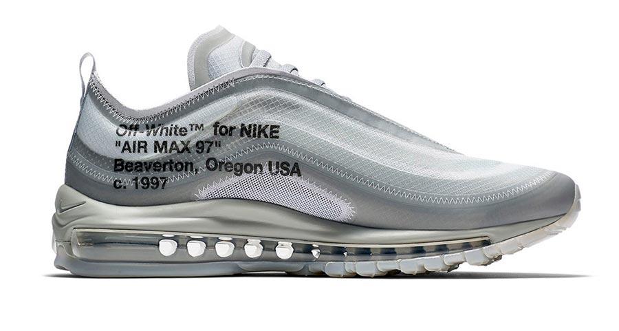sports shoes 69474 1b2b0 Off-White x Nike Air Max 97 Wolf Grey Menta