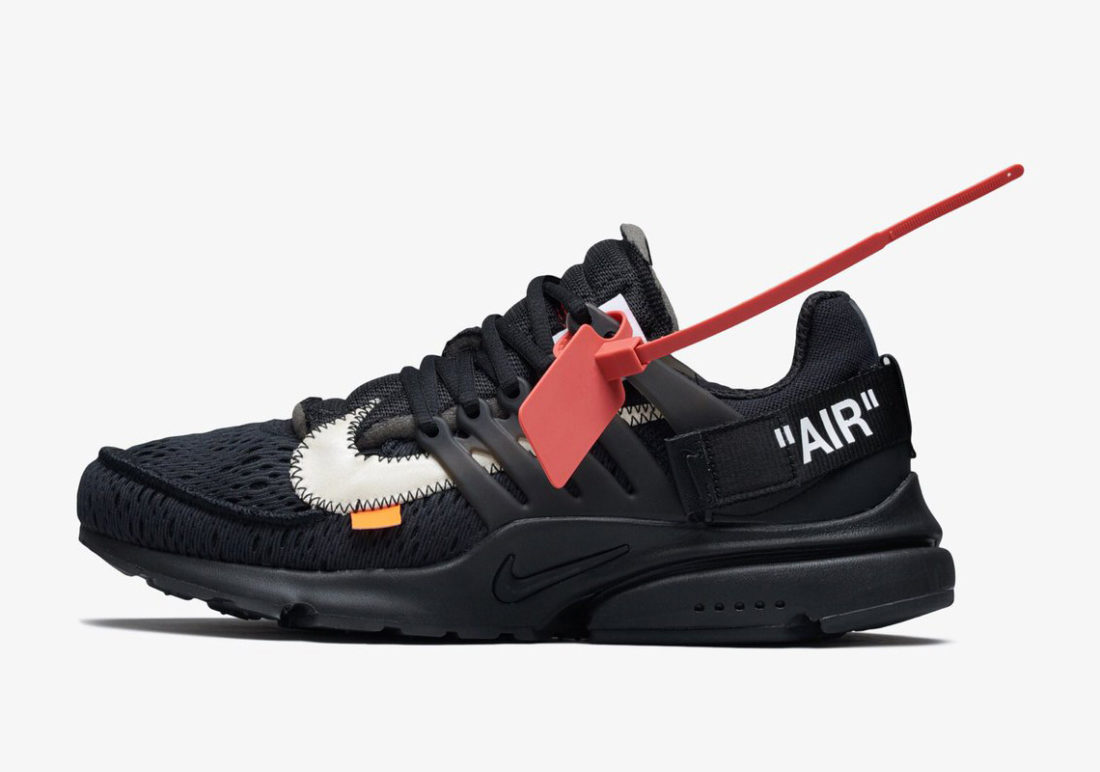 nouvelle collection 712c8 aa6a2 Off-White x Nike Air Presto Black
