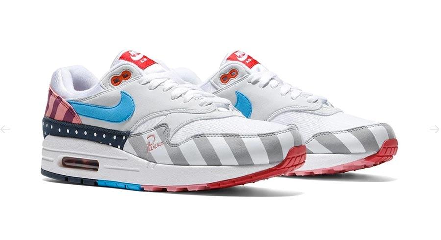 Parra x Nike Air Max 1 White Pure Platinum Le Site de la