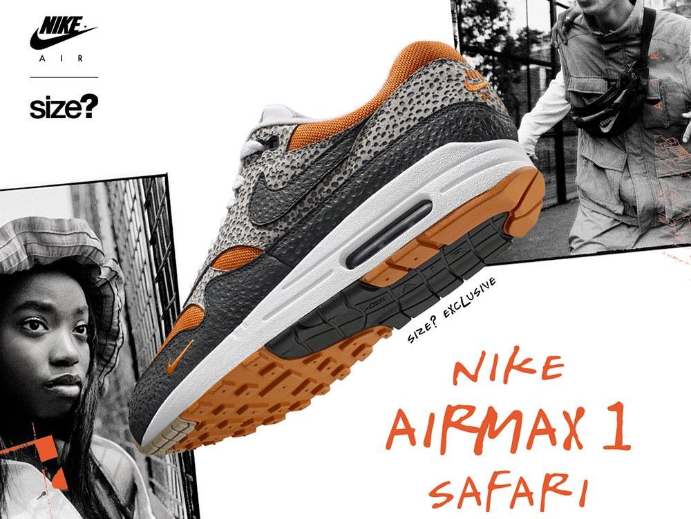 Nike Air Max 1 Safari size? Exclusive Le Site de la Sneaker