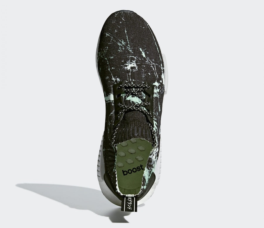 04e77d573 adidas NMD R1 Primeknit Green Marble - Le Site de la Sneaker
