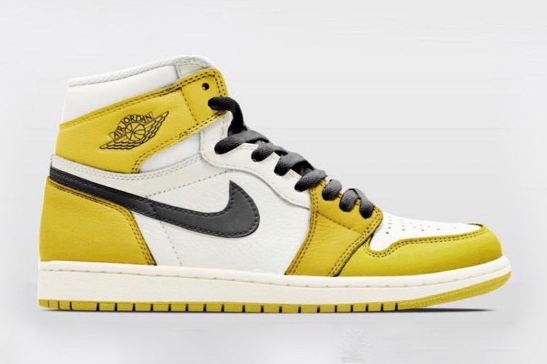 code promo c2048 9a380 Une nouvelle Air Jordan 1 Laney en 2019 - Le Site de la Sneaker