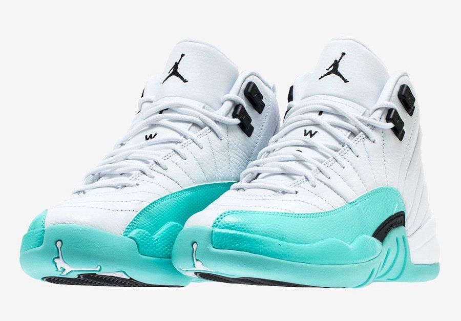 Aqua Jordan 12 Le Air Sneaker Site De Light La OiuZkXPT