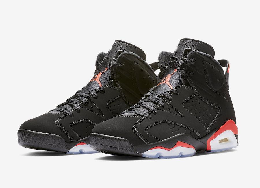 c3dde97d29da Air Jordan 6 Black Infrared - Le Site de la Sneaker