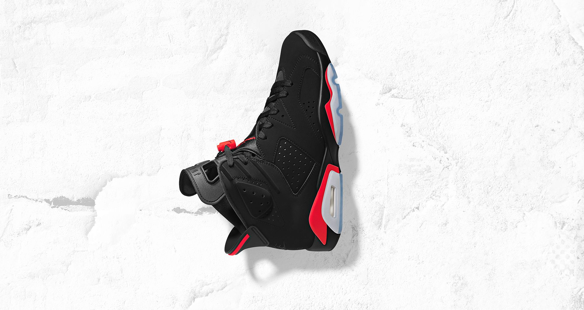 new product ae24c 6abbf Air Jordan 6 Black Infrared