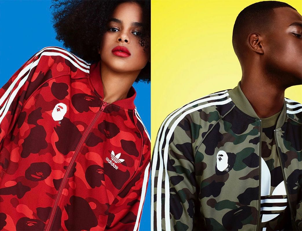 best website 53382 67549 BAPE x adidas Originals AdiColor Collection