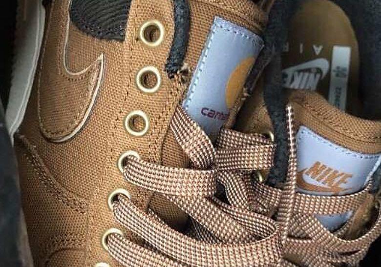 Preview: Carhartt x Nike Air Force 1 Low Premium Pack Le