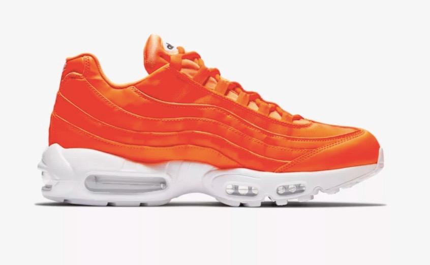 info pour 3c60c 091bf Nike Air Max 95 Just Do It Orange
