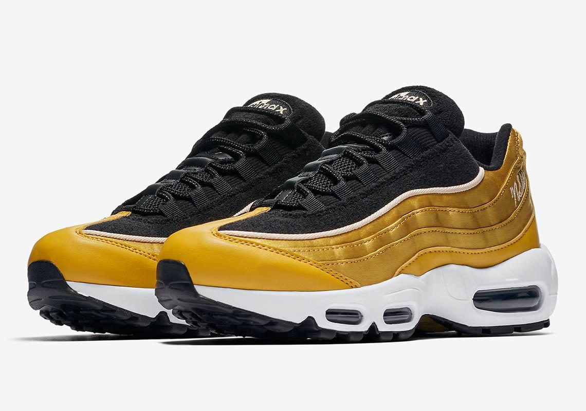 Nike Air Max 95 SE Black Gold Le Site de la Sneaker