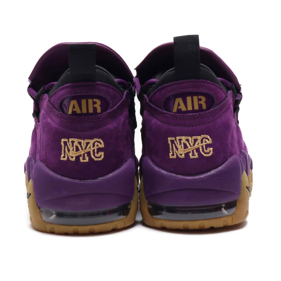 Preview: Nike Air More Money Purple & Leopard Le Site de