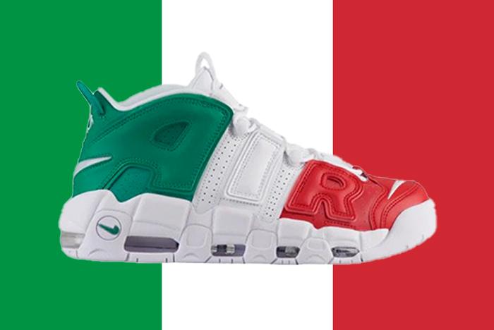 2a4674b713 Une Nike Air More Uptempo QS Italy en approche - Le Site de la Sneaker