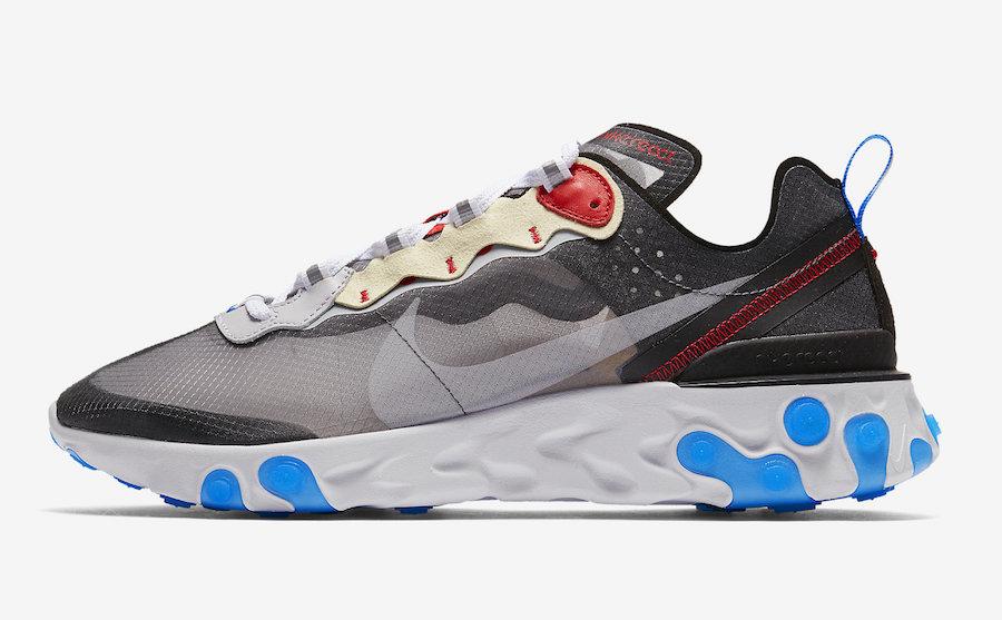 Nike React Element 87 Dark Grey