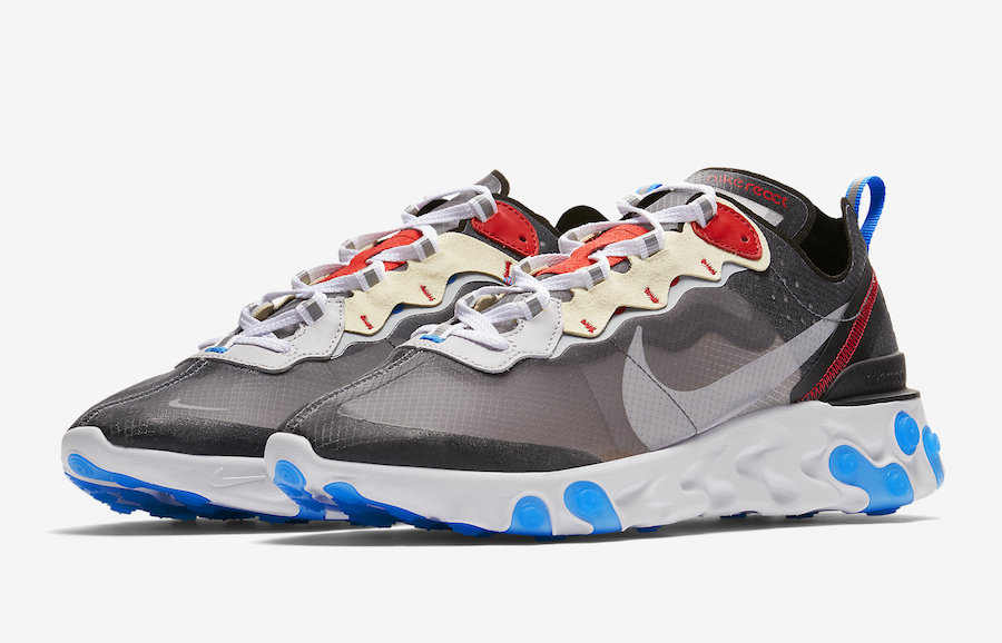 crazy price wholesale new concept Preview: Nike React Element 87 Dark Grey - Le Site de la Sneaker