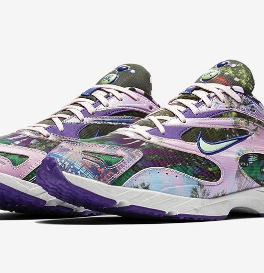 19d9bb356883f Nike Zoom Streak Spectrum Plus Court Purple. Remise au goût du jour par  Supreme