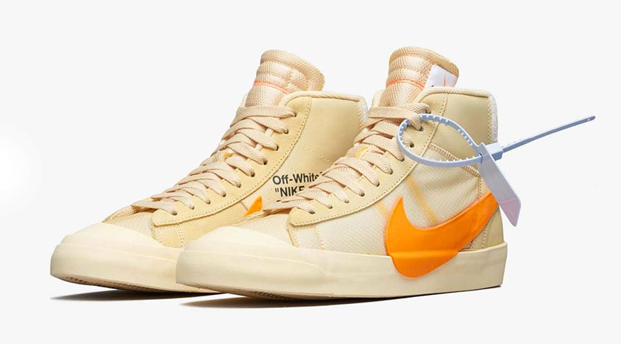 competitive price 74f66 dae14 ... where can i buy off white nike blazer mid pale vanilla aa3832 59377  73c00