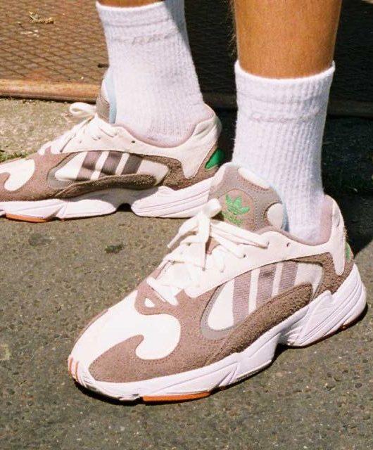 adidas yung 1 femme rose