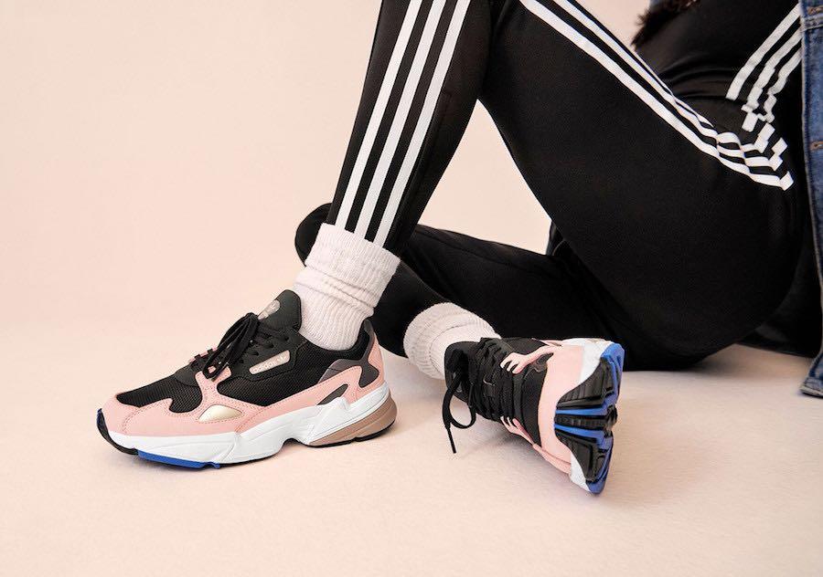 adidas Falcon Black Pink