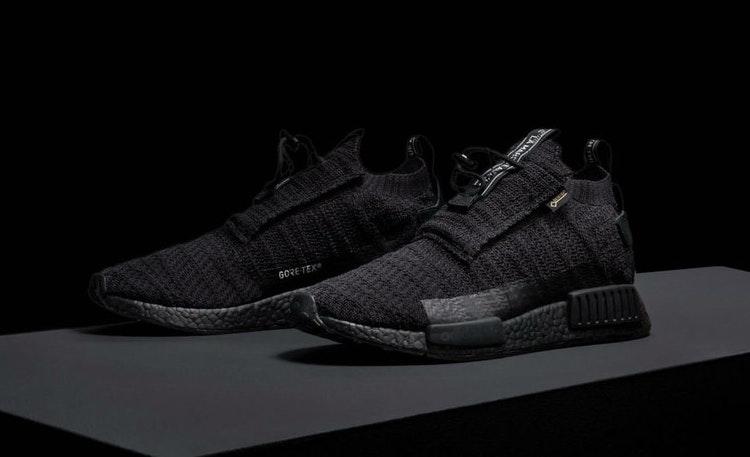 adidas NMD TS1 Gore Tex Triple Black | AQ0927