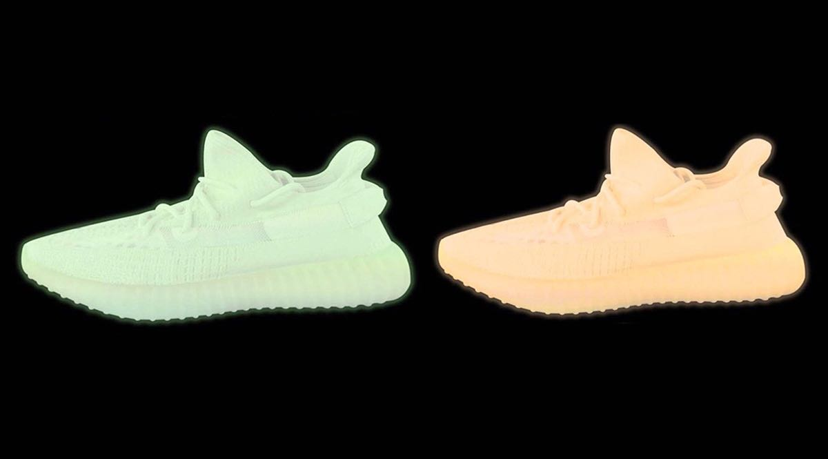 Un pack adidas Yeezy Boost 350 V2 Glow In The Dark à venir - Le Site de la  Sneaker