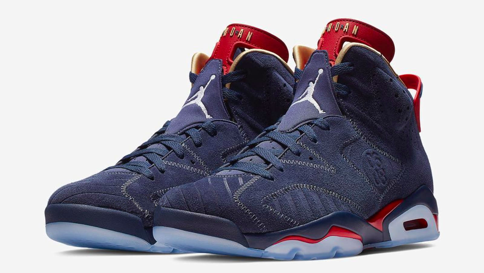 photos officielles 179a9 e1a78 Air Jordan 6 Doernbecher - Le Site de la Sneaker