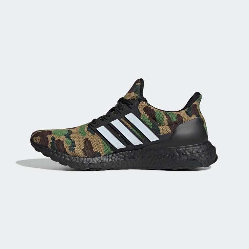 BAPE x adidas UltraBOOST Green Le Site de la Sneaker