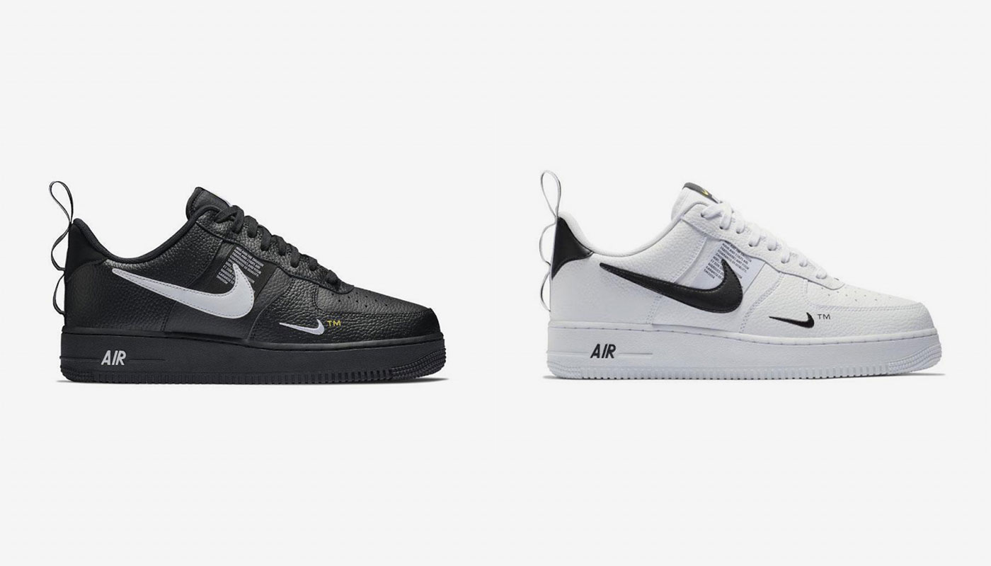 air force 1 low utility noir femme