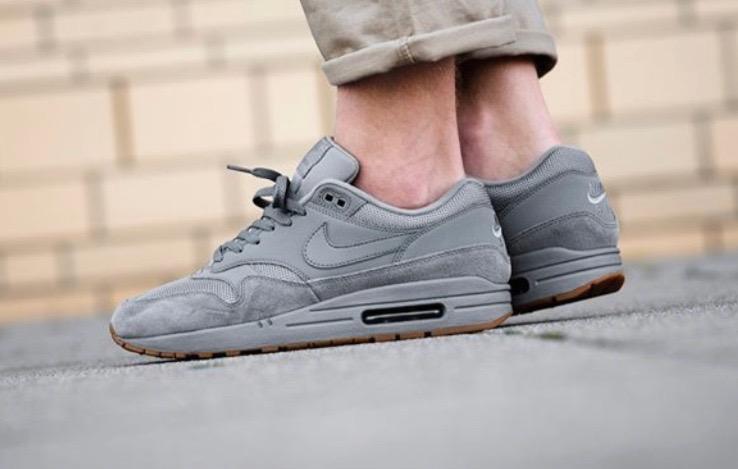 half off 14764 e8c7a Nike Air Max 1 Cool Grey Gum