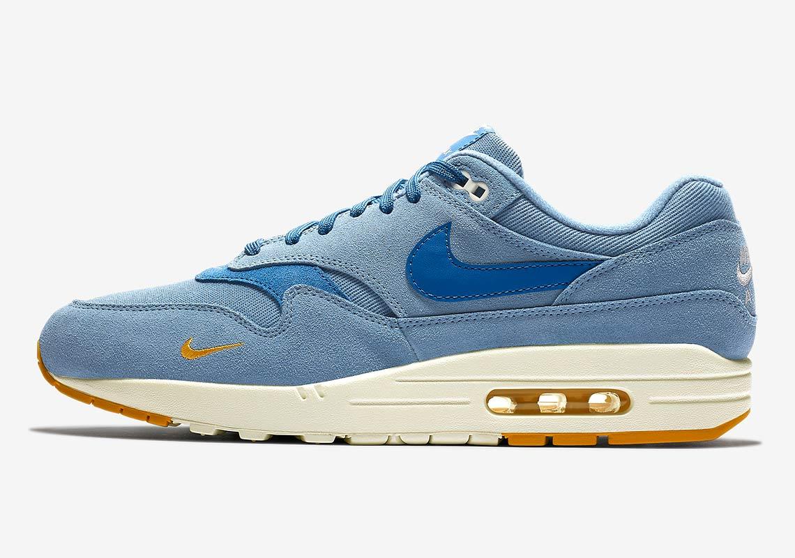 air max 1 bleue