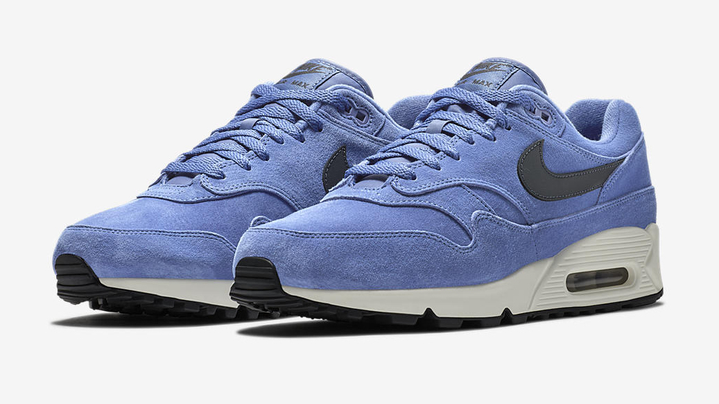 pick up designer fashion catch Nike Air Max 90/1 Purple Basalt