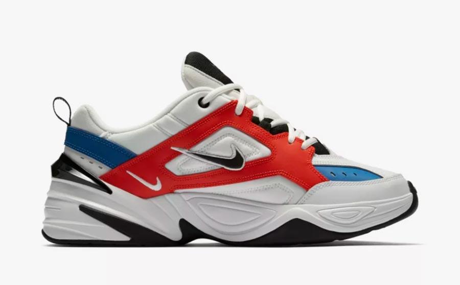 Nike M2K Tekno White Orange Blue