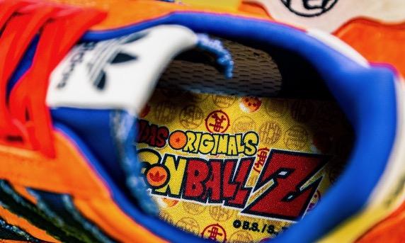 innovative design 1890f 11c1b DBZ x adidas ZX 500 RM Son Goku