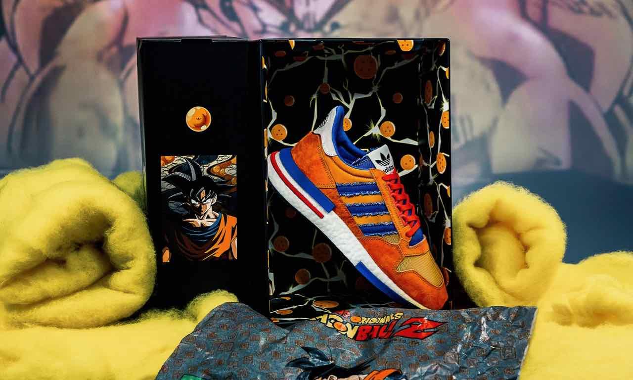 Dragon Ball Z x adidas ZX500 RM Goku | D97046