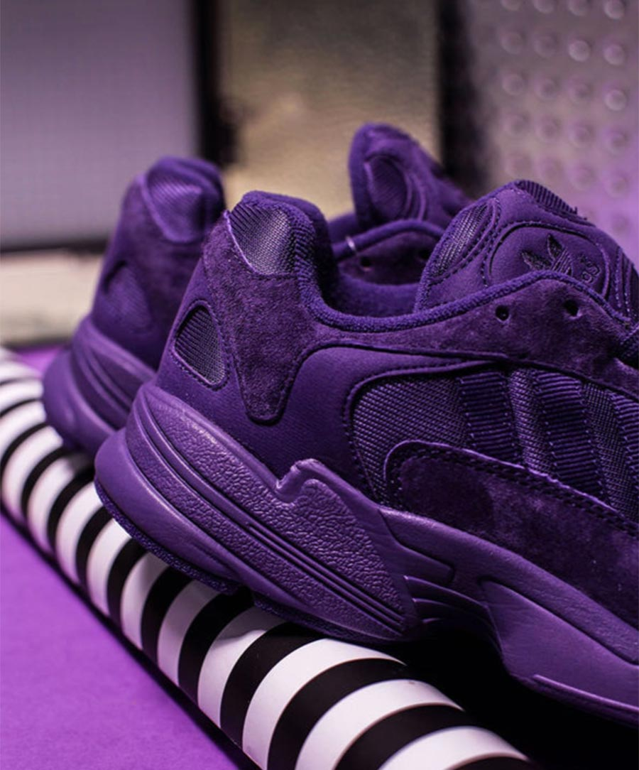 adidas yung 1 homme violet