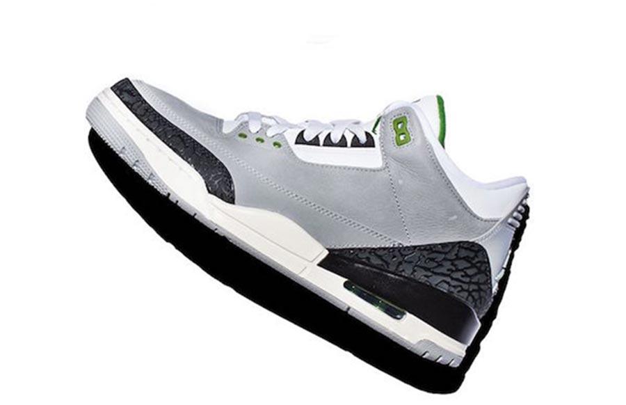 adb8bfc553bee0 Air Jordan 3 Chlorophyll - Le Site de la Sneaker