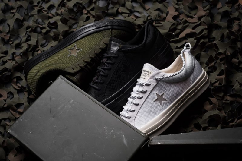 Carhartt WIP x Converse One Star Cordura Collection