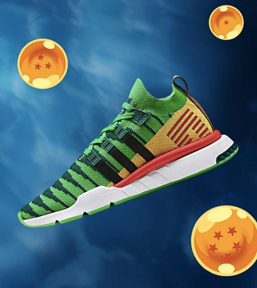 sports shoes be001 9765b DBZ x adidas EQT Support ADV Shenron Green