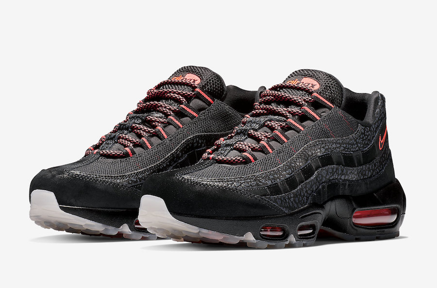 Preview: Nike Air Max 95 Black Infrared Le Site de la Sneaker