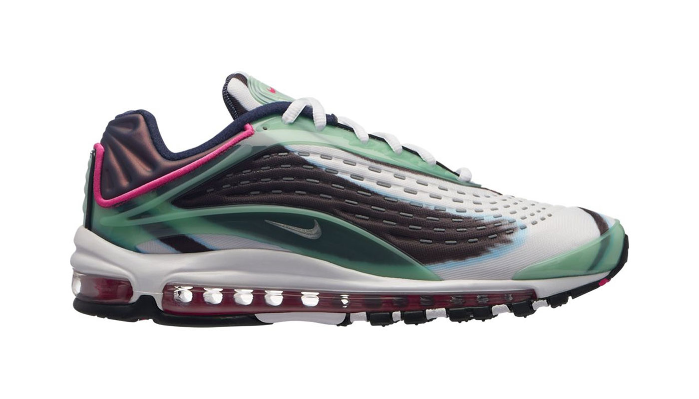 photos officielles ab6e7 3c3f6 Nike Air Max Deluxe Enamel Green - Le Site de la Sneaker