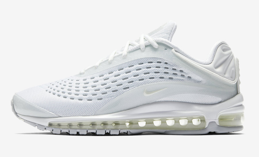 air max deluxe blanche