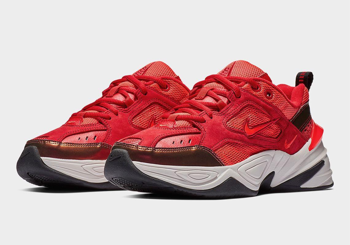 separation shoes dc190 ff43c Preview  Nike M2K Tekno Red Suede - Le Site de la Sneaker