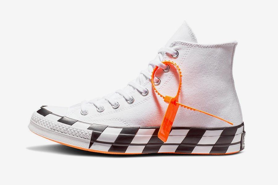 Off-White x Converse Chuck 70 Stripe White